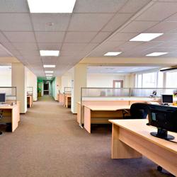 Imagen de las oficinas de una empresa privada