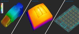 Imagenes 3D de fabricacion y extres termico