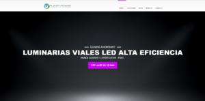 Farola Vial LED Planet Power